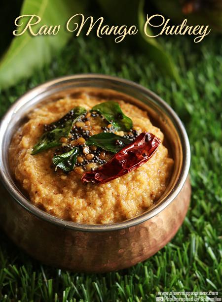 Andhra Style Raw Mango Chutney