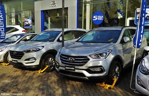 Hyundai Tucson y Santa Fe - Santiago, Chile