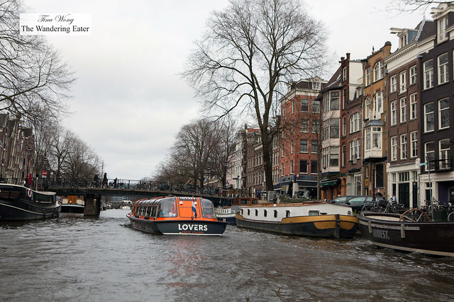 A Lovers canal boat