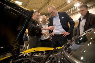 Opel auf der Techno-Classica