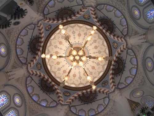 礼拝堂天井・魚眼
