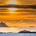 Sonnenuntergang auf den Vesterålen by mark.helfthewes