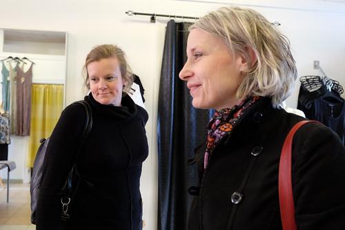 Gertrud Hellbrand och Ulla Fredriksson
