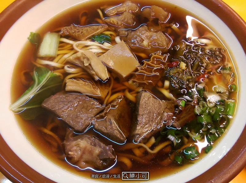台北牛肉麵︱牛排,福力牛肉麵 @陳小可的吃喝玩樂