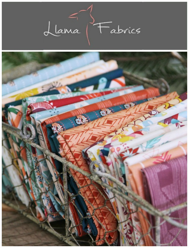 Fleet and Flourish at Llama Fabrics!