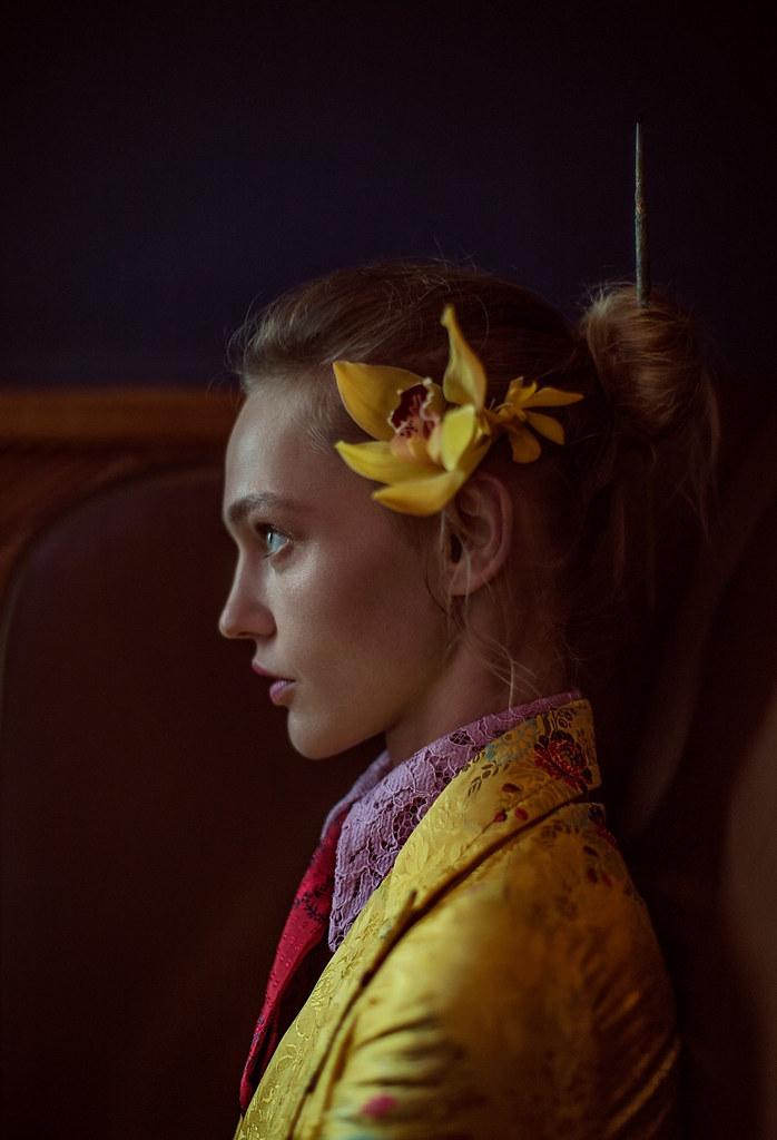 Саша Пивоварова — Фотосессия для «Vogue» CH 2016 – 6
