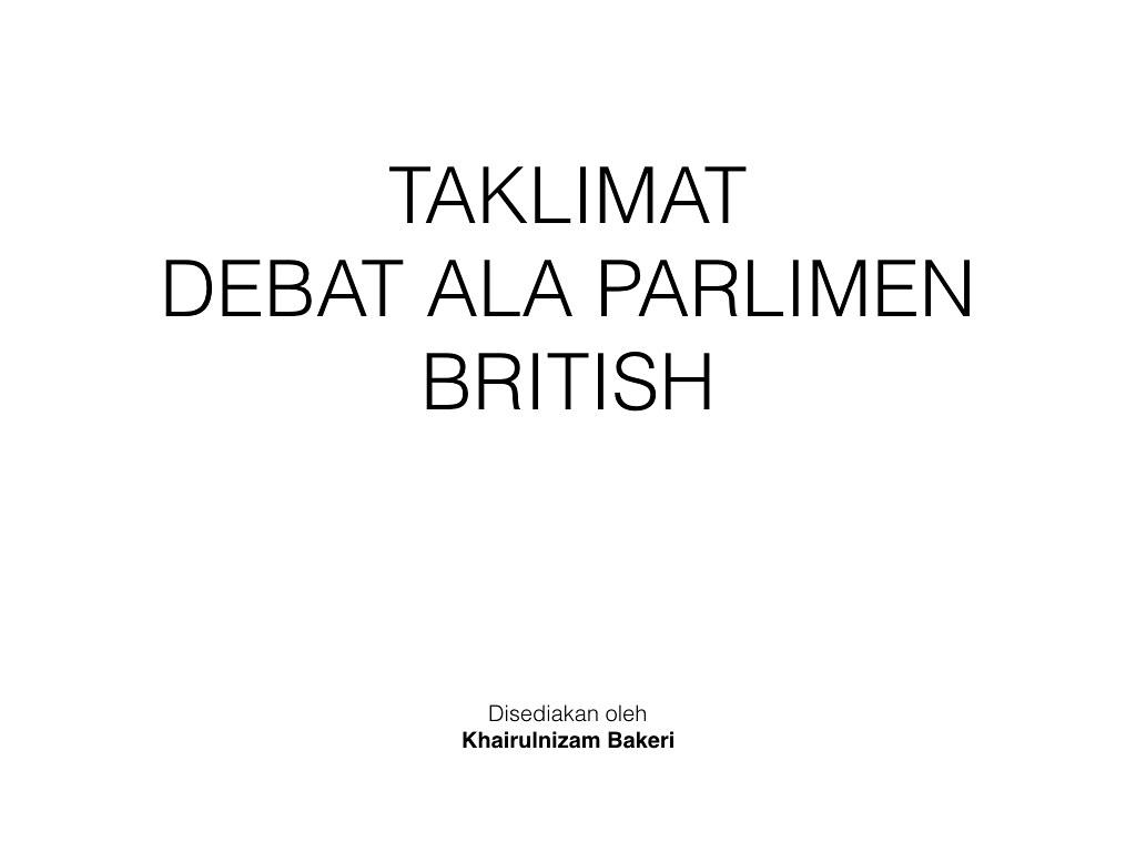 TAKLIMAT DEBAT BP.001