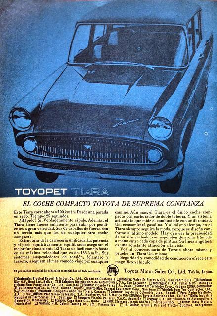 Toyopet Tiara (1962, Selecciones del Readers Digest)