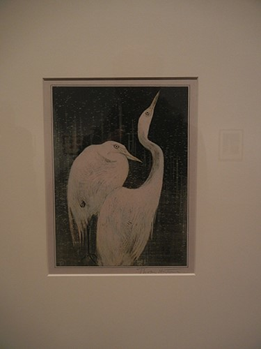 DSCN0985 _ Silver Herons (Zilverreigers), Theodorus van Hoytema, Looking East, Asian Art Museum