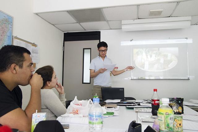Final presentations in class