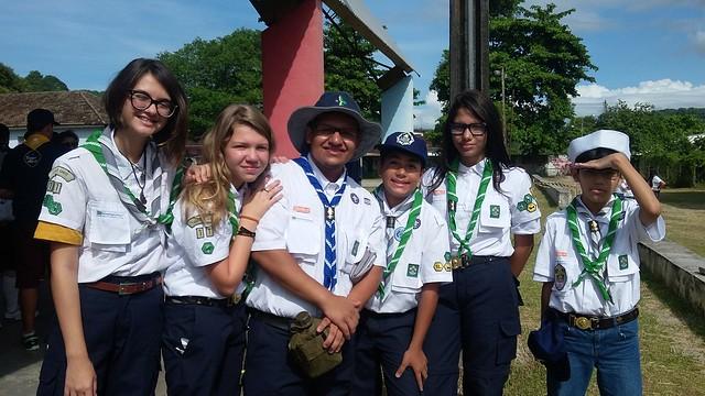 Participação dos Escoteiros do Ilha no 11º Ajuri Nacional dos Escoteiros do Mar