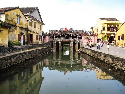 Hoi An: le pont japonais