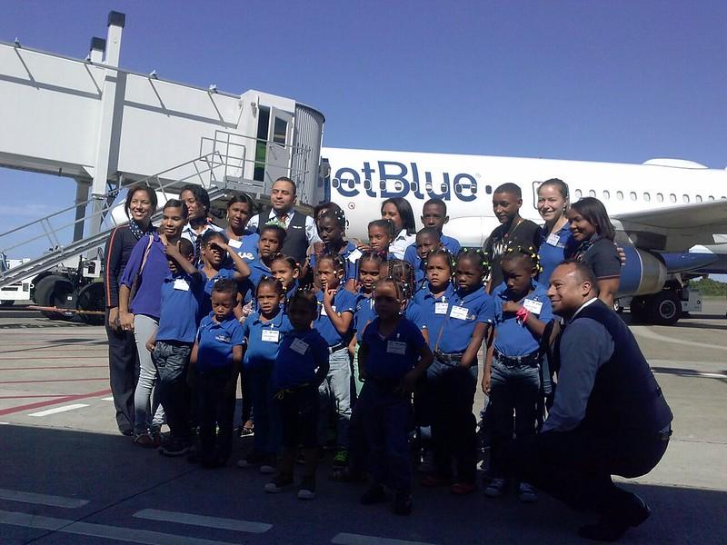 Casa Niños Felices Orphanage visit POP Airport