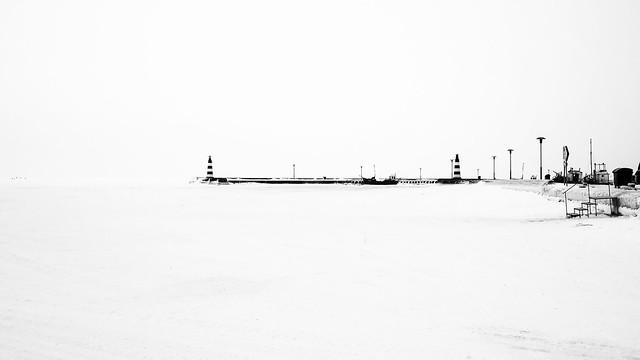 Ventės ragas - Nida ledu | Nidos uostas