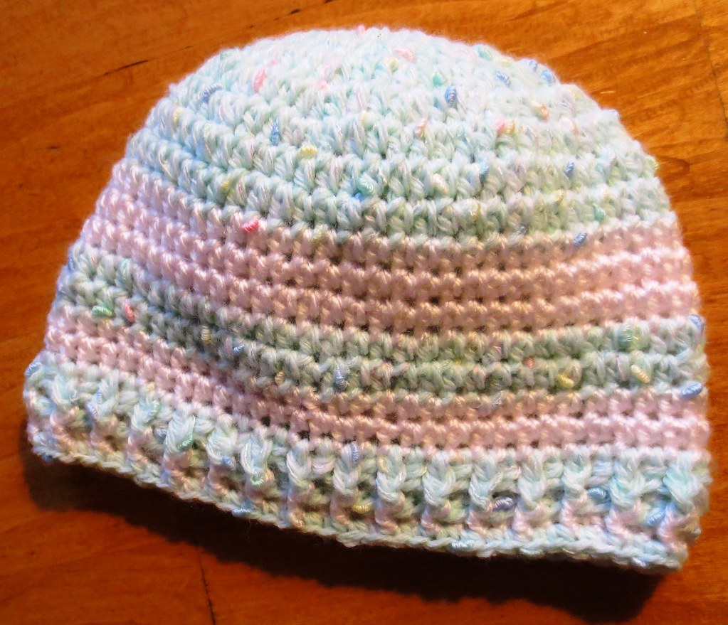 5179cf0288d More Crocheted Baby Hats
