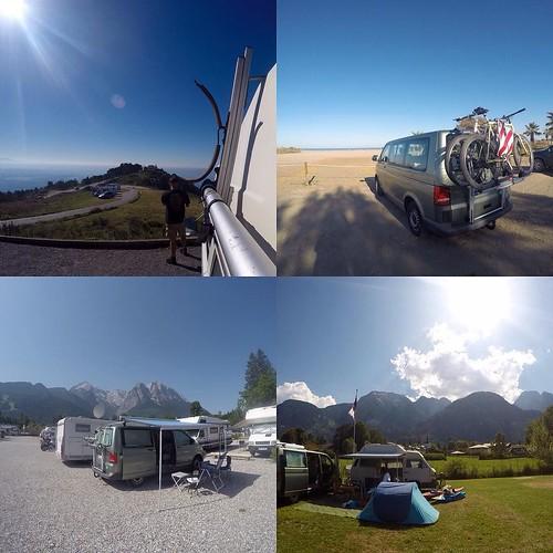 2015 #goprostills of our 2 #campervans 🚐