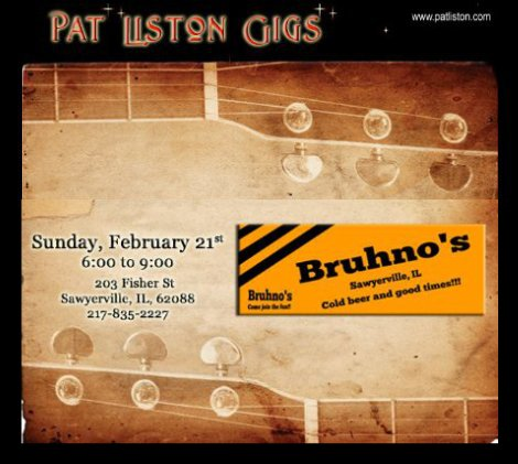 Pat Liston 2-21-16