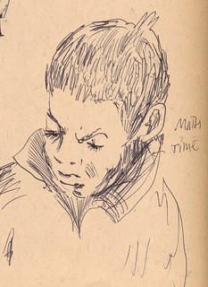 Sketchbook #93: Study Time