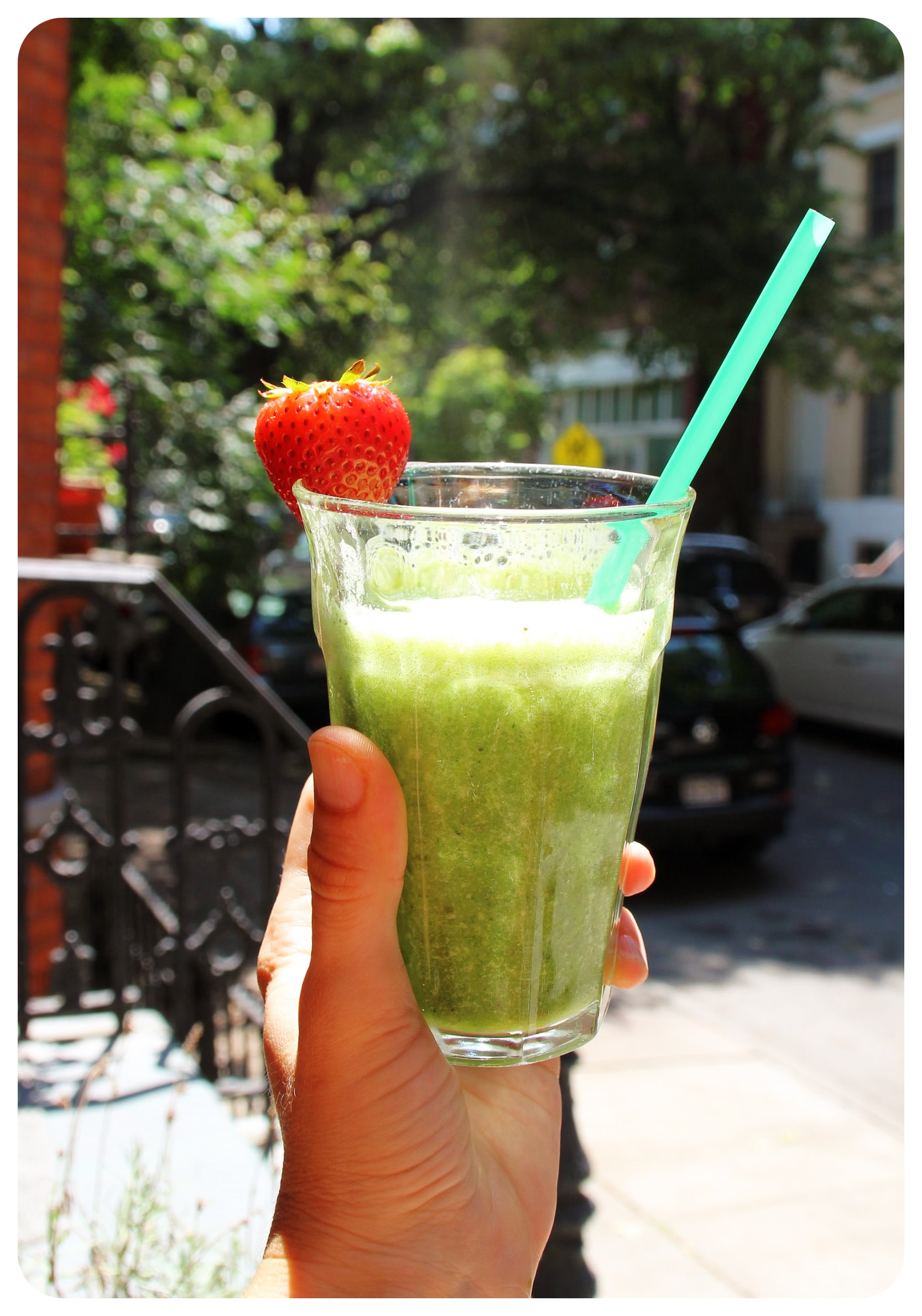 green smoothie new york