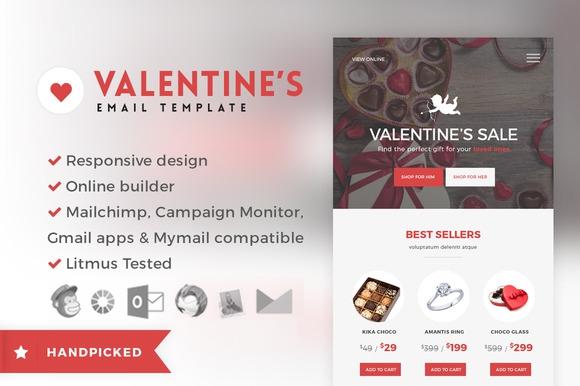 Creativemarket Valentine - Email + Builder Access