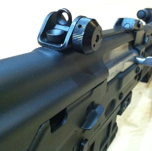 M85/M92 A2 peep sight mod - AR15 COM