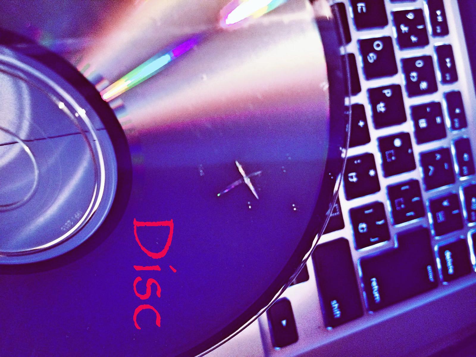 CD Discのダメージ