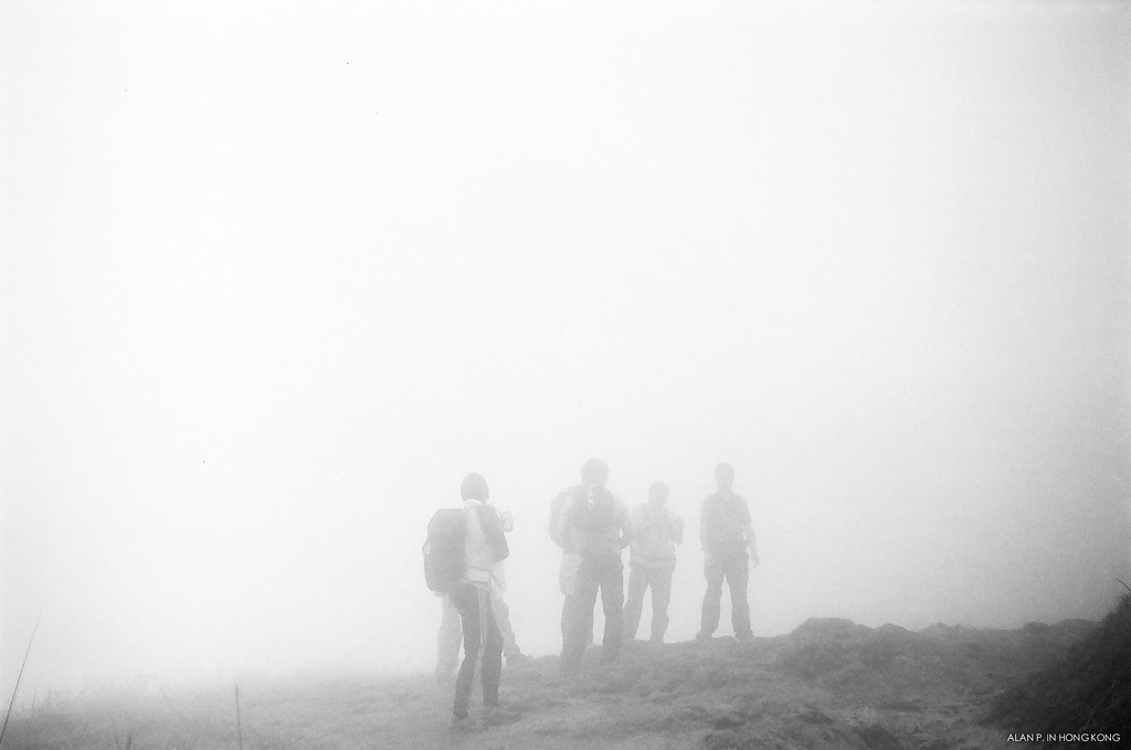 Hike in the mist