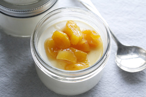 Spice Girl: Ginger Panna Cotta with Apricot Compote ...