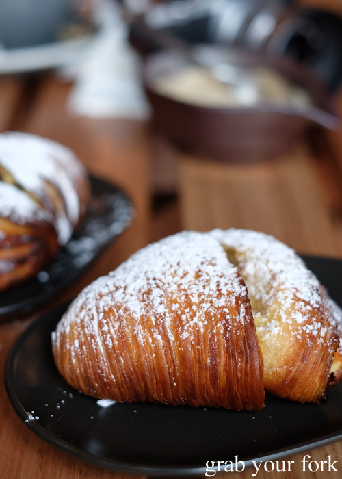 Sfogliatelle pastry layers at Abbots and Kinney, Adelaide