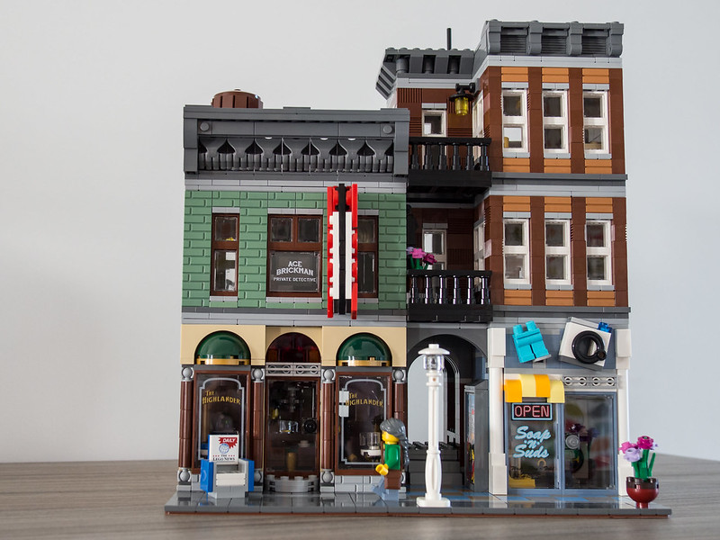 Mod] Dedective Office & Laundry - LEGO Town - Eurobricks Forums