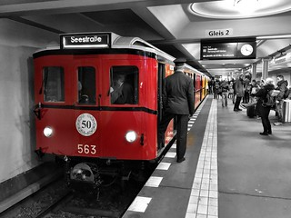 Old Berlin Subway 563 CII