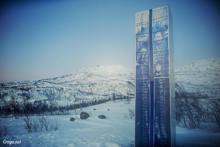 2016.02.23▐ 看我歐行腿 ▐ 阿呀~一不小心就從瑞典到了挪威, Narvik 小鎮遇見地理課本中的峽灣 14.jpg