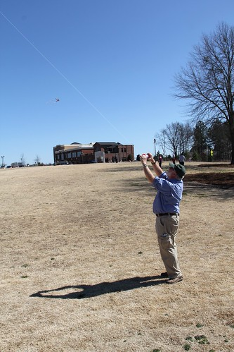 Kite Flying at Legacy Park