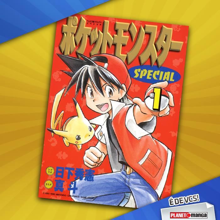 Panini confirma Pokémon Special em seu catálogo!
