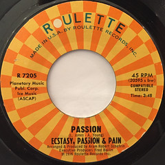 ECSTASY,PASSION & PAIN:PASSION(LABEL SIDE-A)