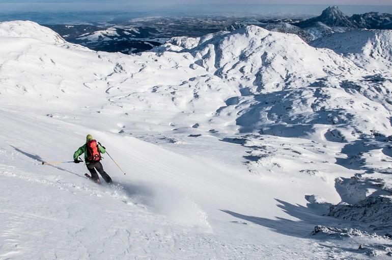 Úžasný skialp na Riederhütte