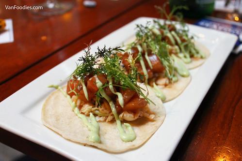 Haidacore Tuna Tacos