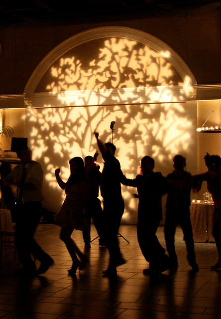 Conga Line Silhouette photo by Sherrie Thai of Shaireproductions