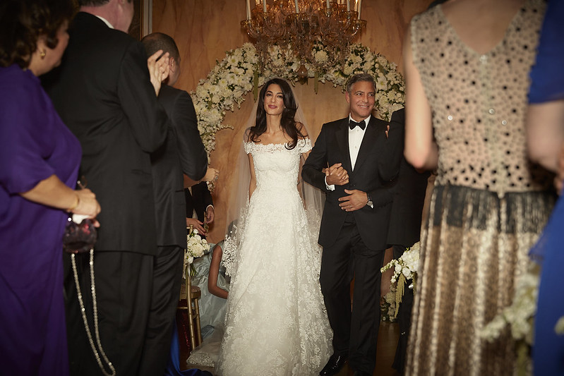 Свадебное платье Амаль Клуни