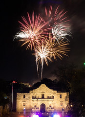 Fiesta Fireworks Over the Alamo