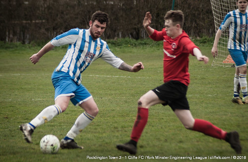 Cliffe FC 1 - 3 Pocklington Town 2Apr16