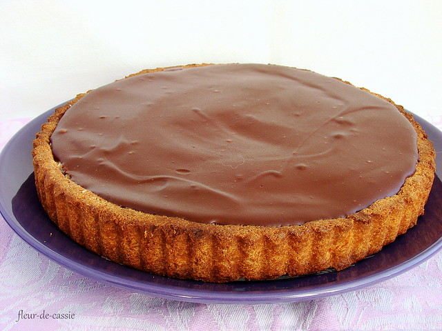 кокосово-шоколадный тарт 2