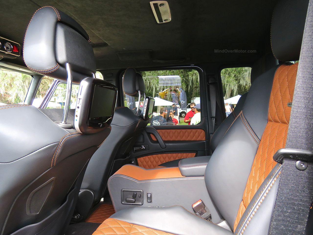 Mercedes G63 AMG 6x6 Amelia Island 3