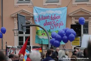 2016.04.18 Neuruppin Proteste gegen AfD Kundgebung mit Bjoern Hoecke (1)