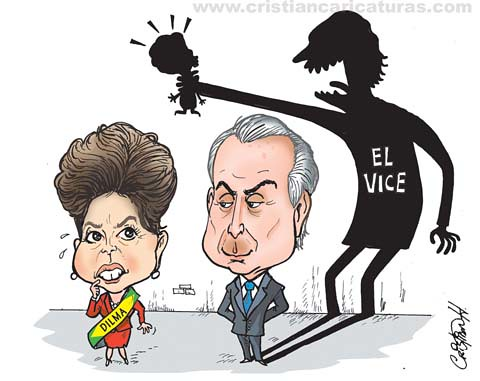Dilma y el vice