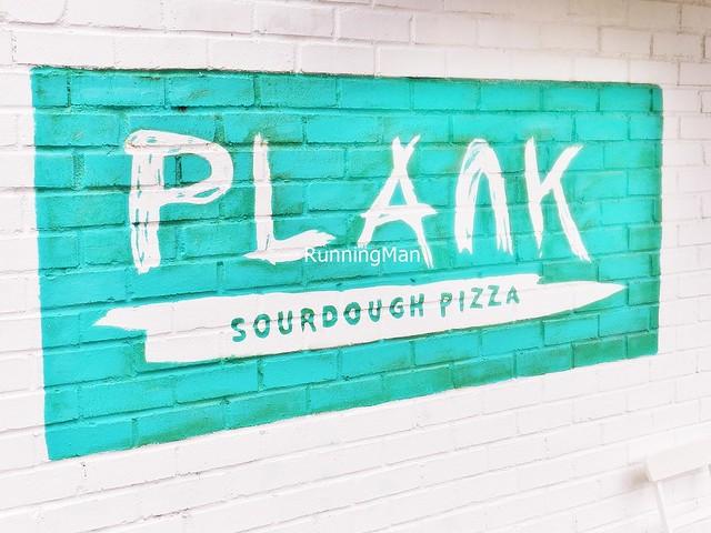 Plank Sourdough Pizza Signage