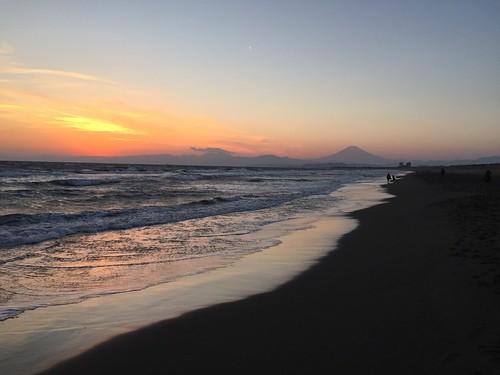 2016年1月2日の富士山