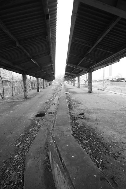 Abandoned Railway station.