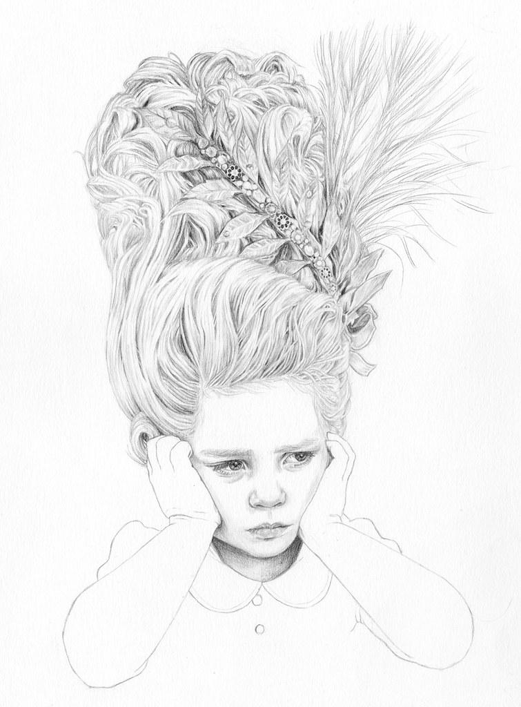 Let Me Eat Cake - Illustration by Jutta Rikola