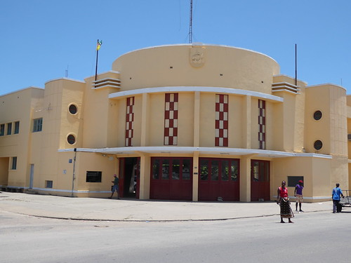 architecture architektur feuerwehr firefighters mozambique moçambique mosambik